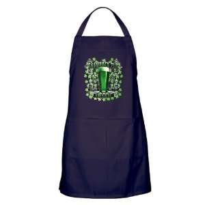 Apron (Dark) Shamrock Pub Luck of the Irish 1759 St Patricks Day Four