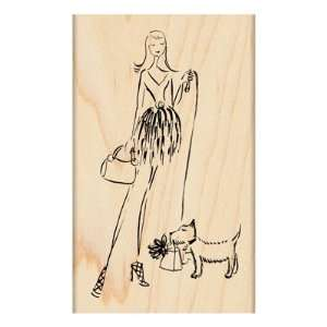 Every Pets Dream Wood Mounted Stamp (Penny Black)