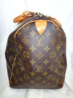 AUTH LOUIS VUITTON MONOGRAM KEEPALL 50 LUGGAGE TRAVEL BAG