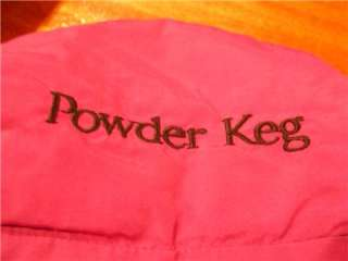 Vtg Columbia Womens L Powder Keg Jacket