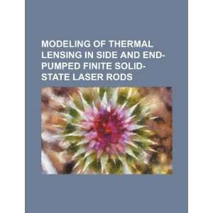 Modeling of thermal lensing in side and end pumped finite