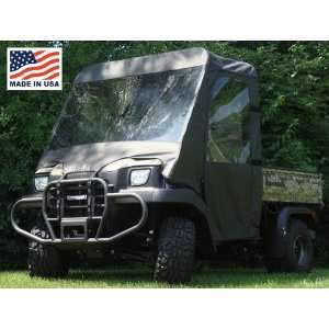 Kawasaki Mule 3000/3010 Full Cab Enclosure with Vinyl Windshield by