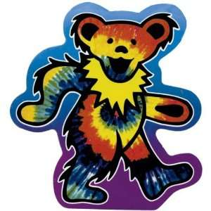 Grateful Dead   Tie Dye Bear Decal: Automotive