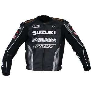 Joe Rocket Suzuki Superbike Replica Jacket   46/Black/Gunmetal/Silver