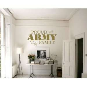 Patriotic Vinyl Wall Decal Sticker Mural Quotes Words Pa032proudap3