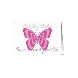 Birthday Wishes 18 year old, butterfly Card : Toys & Games :