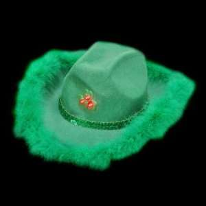 Flashing St.Patricks Day Cowgirl Hat Case Pack 4