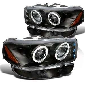 Gmc Yukon Denali Slt Led Halo Projector Headlights, Bumper