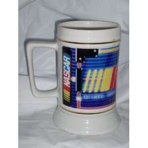 NASCAR Logo Reflections 26oz Ceramic Beer Stein Sports