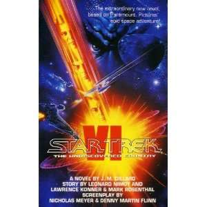 Star Trek VI: The Undiscovered Country (9780586216606): J