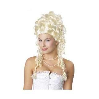 Marie Antoinette Wig Blonde Ringlet Wig Victorian Doll Costume