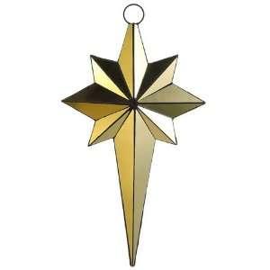 24 Mirror Northern Star Ornament Gold