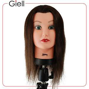 21 Cosmetology Mannequin Head 100% Human Hair   Debra
