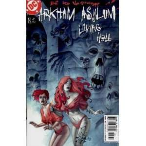 Arkham Asylum Living Hell (2003) #5: Books