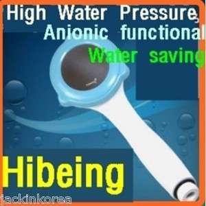 Hibeing] High water pressure/Anionic function/Water saving Shower Head