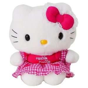Hello Kitty   Apple Apron Hello Kitty 8 Plush Toys