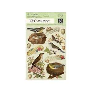Company Brenda Walton Flora & Fauna Grand Adhesions Stickers, Birds