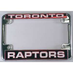 Toronto Raptors Chrome Motorcycle RV License Plate Frame