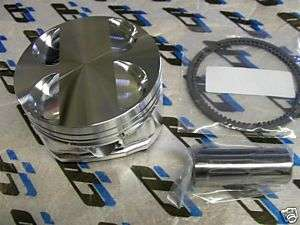 CP Pistons Honda D16Z6 Civic Del Sol 75.5mm Bore 9.0