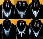 New hot style Lots Fashion 12Sets Crystal Rhinestone Necklaces