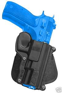 CZ75 Fobus paddle Holster CZ 75 75BD 85 75D Compact 9mm