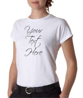 Custom Personalized Text Heavyweight T Shirt Tee All Sizes