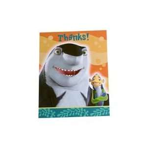 Shark Tale Thank You Notes Toys & Games