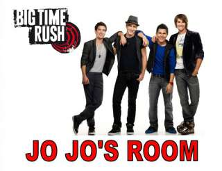 BIG TIME RUSH BAND PERSONALIZED ROOM SIGN LAMINATED
