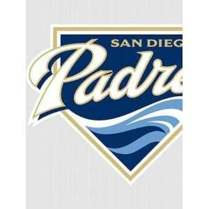 Wallpaper Fathead Fathead MLB Players & Logos San Diego Padres Logo