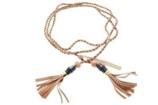 Gucci NEW Womens Beige Dress Belt Leather 34