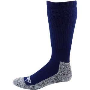 Patriots Ladies Navy Blue Gray Wool Trekker Socks
