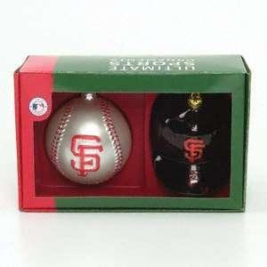 San Francisco Giants Double Ornament Set Sports