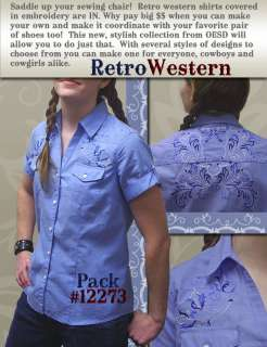 western vine shirt front western vine shoulder front western vine yoke