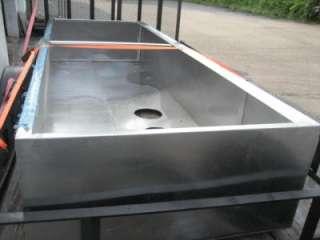 Commercial Kitchen Exhaust Vent Hood 136x48x24 Ceiling Mount