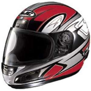 HJC CS 12 CS12 FULL FACE MOTORCYCLE HELMETS VON BREAKER MC1 RED SIZE