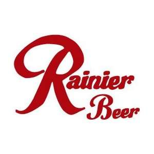 Rainier Beer Decal Sticker