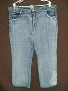 Plus Size Lot of 11 Womens Stylish Jeans & Capri Pants Size 3XL 22/24