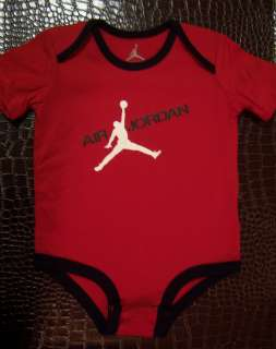 Air Jordan Jumpman Flight Infant Baby Newborn Onesie Romper Bodysuit