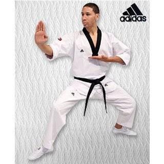 Adidas Grand Master Taekwondo Dobok Uniform w/ 3 Stripes