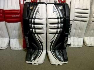 New Vaughn Velocity V4 7450 Ice Hockey Goalie Leg Pads Sr 36+1