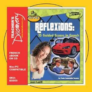 Reflexions 35 Guided Essays in French Book on CD Teacher