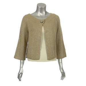 Sutton Studio Womens Cashmere Blend Fly Away Jacket