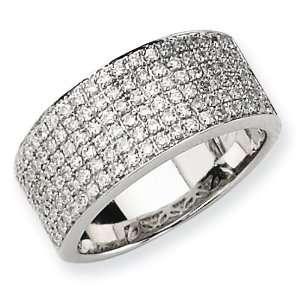 White Gold AA Diamond Ring Diamond quality AA (I1 clarity, G I color