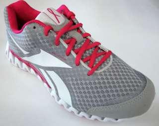 REEBOK PREMIER ZIGFLY SE Pink Grey Silver Womens Shoes