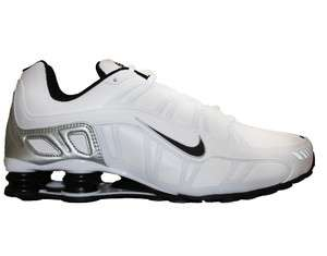 Nike Shox Turbo 3.2 SL White/Black Silver Mens Running Shoes 455541