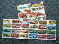 1976 SOLIDO Catalog Diecast/Die Cast Car/Truck |