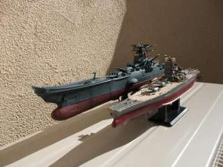 TAITO SUPER MECHANICS BATTLESHIP YAMATO MODEL World War II JAPANESE