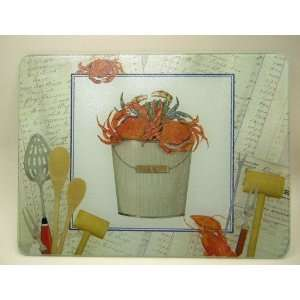 Catch of the Day Lobster Tempered Glass Cutting Board