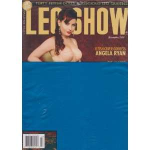 Leg Show Magazine December 2011: Editors of Leg Show Magazine: Books