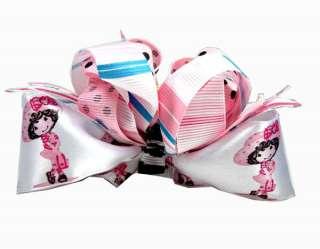 The Powerpuff Girls Fantasy Boutique Hair Bow Clip Pair